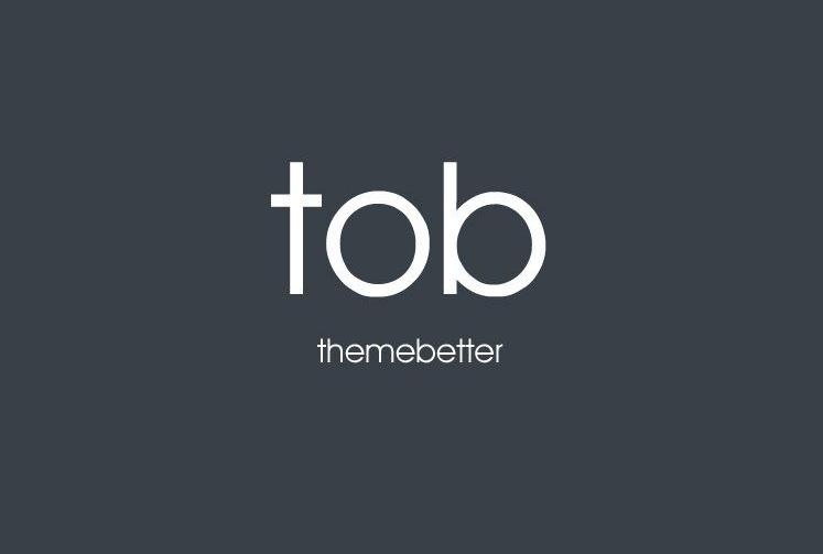 WordPress主题-前端TOB主题免费下载