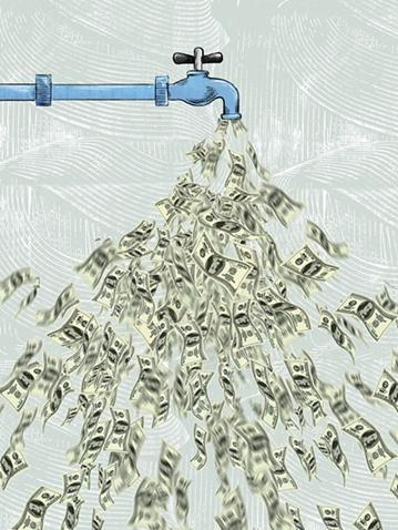 美国疯狂印钱制造财政窟窿,会引发大规模通胀吗?