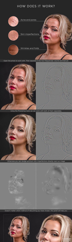photoshop人像插件#PS终极人像精修磨皮润饰扩展最新Ultimate Retouch Panel_v3.8.10汉化支持MAC3
