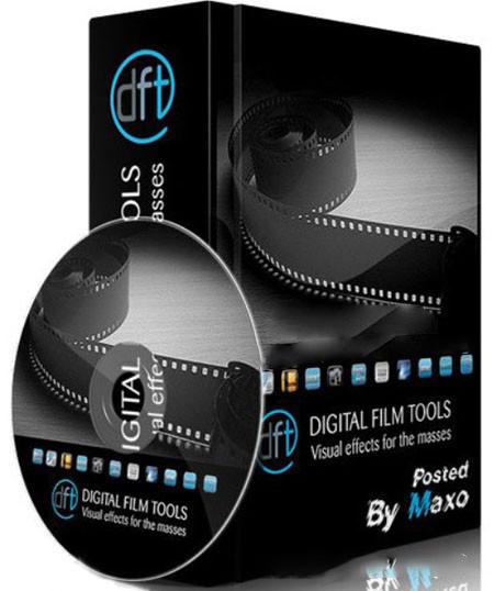 影楼PS2019-2020插件#修片自用Digital Film Tools DFT V1.2.1PS2019-2020光效插件 汉化破解版