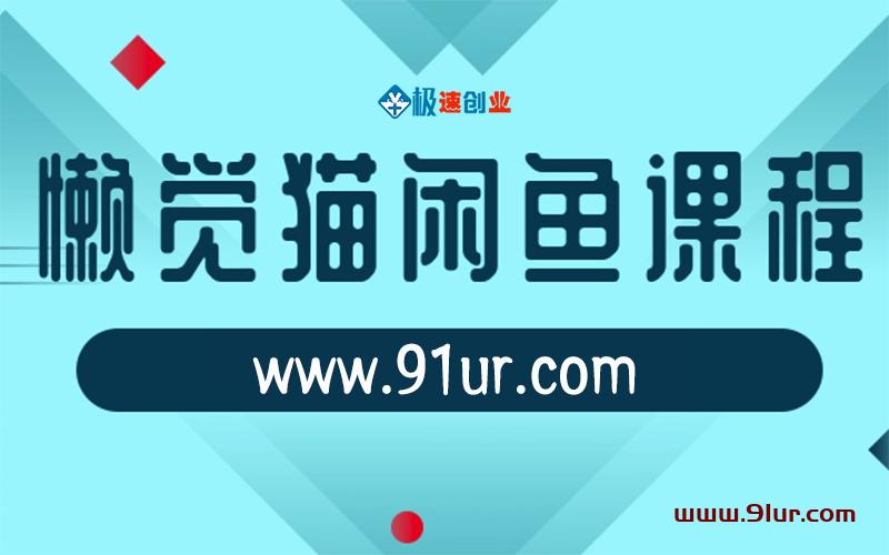 闲鱼视频实操课程#懒觉猫闲鱼初级视频课程+闲鱼赚钱高级视频课程