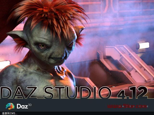 Daz3DStudio4.12中文版快捷一键安装软件+汉化 #WIN系统64位#送GOZ插件+18G亚洲人物模型包111
