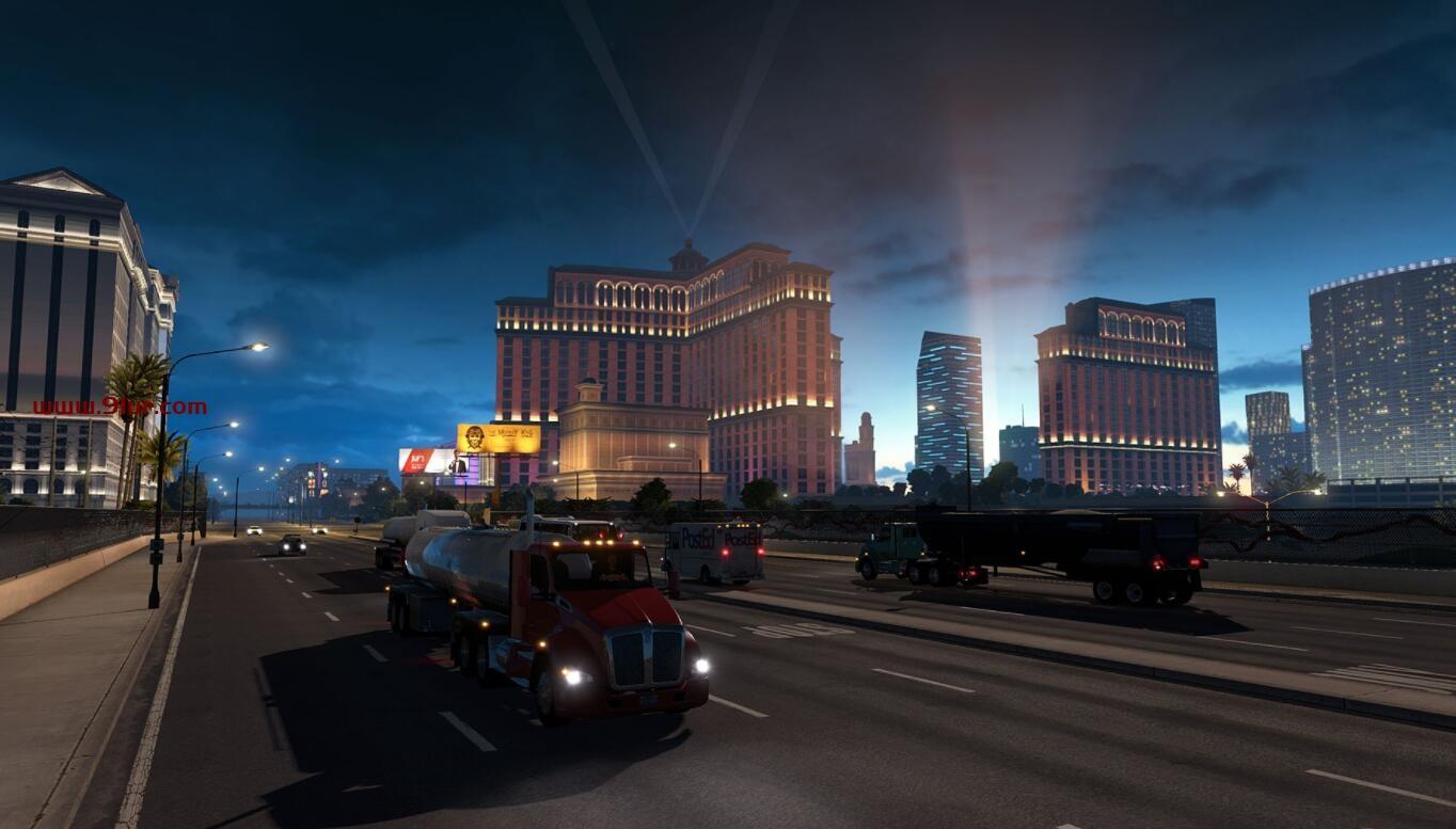 美国模拟养生卡车1.39.2整合全部DLC-带FM广播#模拟卡车游戏#美国卡车模拟