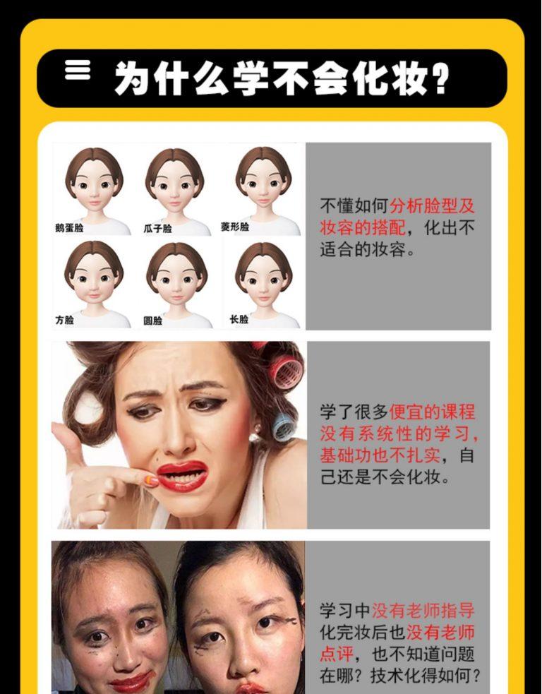零基础彩妆化妆视频教程